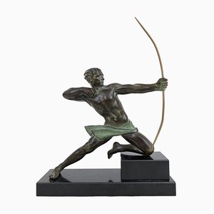 Spartiate Sagittarius Sculpture by Max Le Verrier