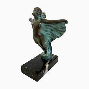 Statuina ornamentale Eola di Max Le Verrier