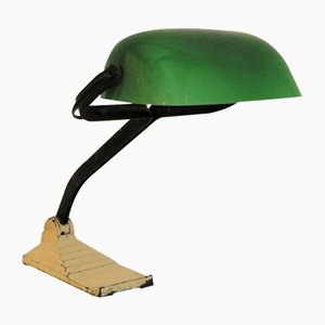 Factory Desk Lamp Lamp from Erpe, 1940s