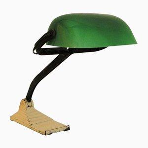 Lámpara de escritorio de fábrica de Erpe, años 40