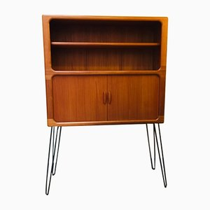 Large Mid-Century Teak Highboard from Dyrlund