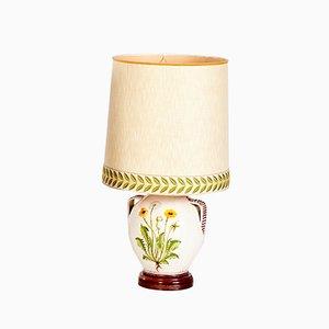 Lampada da tavolo vintage in ceramica, anni '70