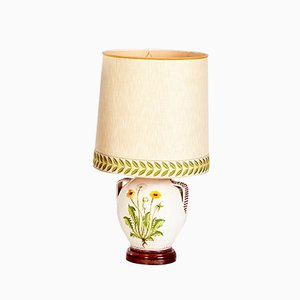 Vintage Tischlampe aus Keramik, 1970er