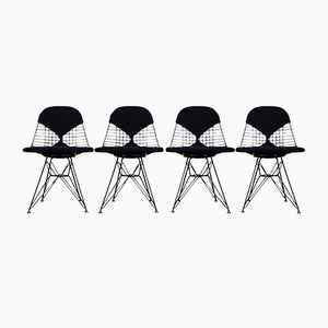 DKR Bikini Dining Chairs by Charles & Ray Eames for Vitra, 1970s, Set of 4