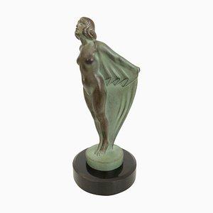 Femme Au Voile Skulptur von Max Le Verrier