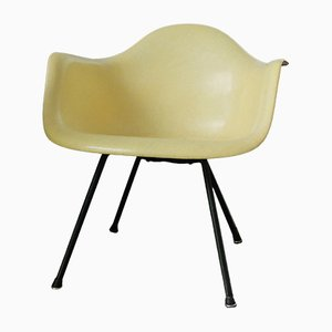 Yellow LAX Armchair by Charles & Ray Eames for Zenith Plastics, 1952