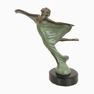 Envol Radiator Figure Sculpture by Max Le Verrier