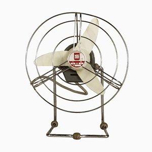 Ventilador italiano Mid-Century de Standa, años 60