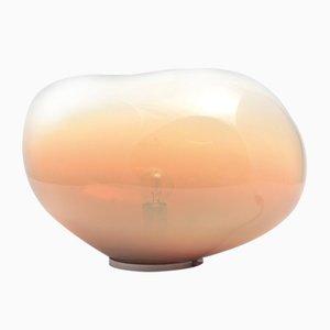 Lámpara de mesa Sedna Amber S iridiscente en ámbar de Simone Lüling para ELOA