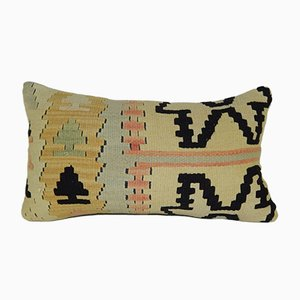 Kilim Lumbar Pillow Cover from Vintage Pillow Store Contemporary