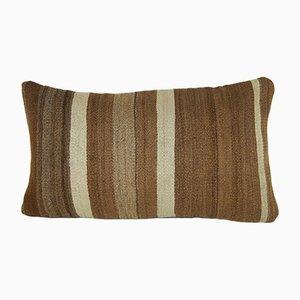 Housse de Coussin Tissé à la Main Rayé de Vintage Pillow Store Contemporary