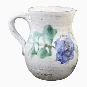 Mid-Century French Ceramic Pitcher by Albert Thiry, 1960s