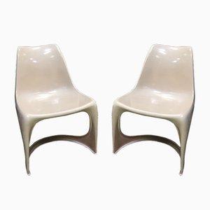 Dänische Mid-Century Stühle von Steen Ostergaard für Cado, 1960er, 2er Set