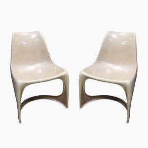 Mid-Century Danish Chairs from Steen Ostergaard for Cado, 1960s, Set of 2
