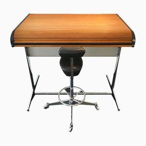 Tabouret Office No. 64916 Action & Perch No. 64940 par George Nelson & Robert Propst pour Herman Miller, 1960s