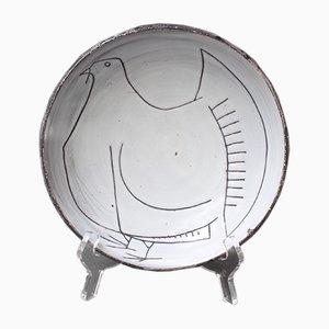 Mid-Century Decorative Bowl by Jacques Pouchain for Atelier Dieulefit, 1970s