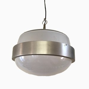 Italian Delta Ceiling Lamp by Sergio Mazza for Artemide, 1960s