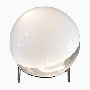 Lampada da tavolo in vetro soffiato a mano di Angelo Mangiarotti per Skipper & Pollux, Italia, 1978