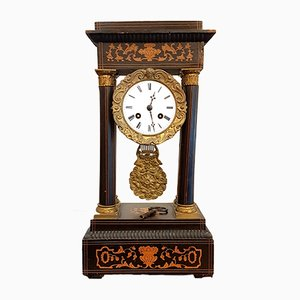 Antique French Beech Clock, 1820