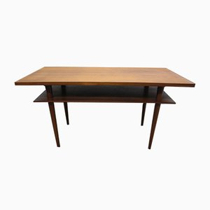 Mid-Century Teak Veneer Coffee Table, 1950s