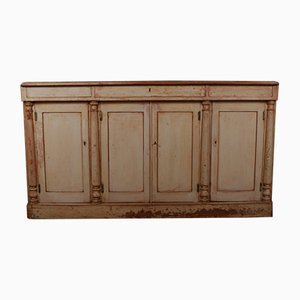 Antique English Wooden Cabinet