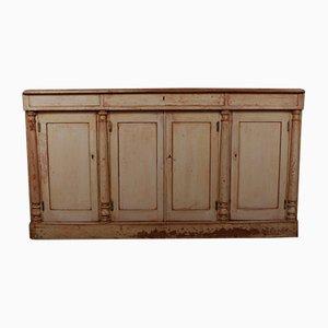 Mueble inglés antiguo de madera