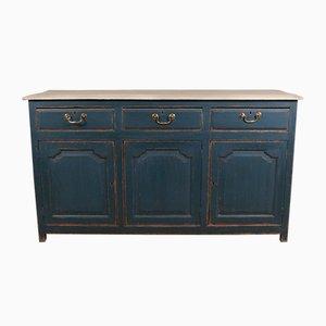 Antique English Painted Oak Cabinet
