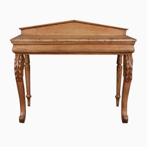 Antiker schottischer Konsolentisch aus Holz