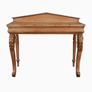 Table Console Antique en Bois, Ecosse