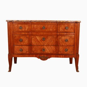 Antique French Walnut Dresser, 1820s