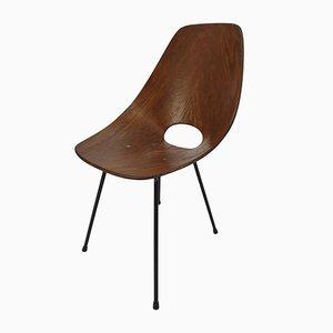 Italienischer Medea Stuhl aus Bugholz von Vittorio Nobili für Fratelli Tagliabue, 1950er