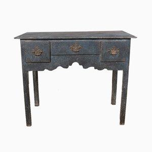 Antique Wooden Low Boy Console Table