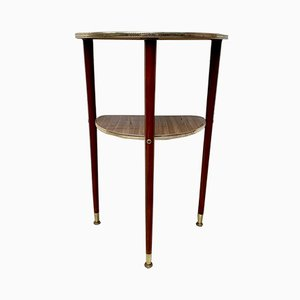 Vintage D138 Crescent Side Table, 1950s
