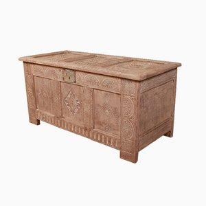 Antike Kiste aus Eiche