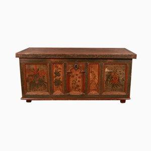Antike Hochzeitskiste aus Holz