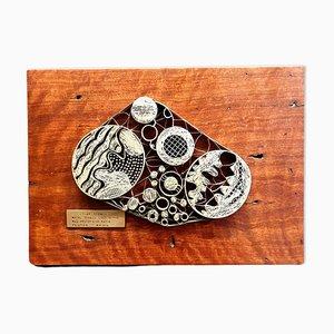 Plantilla de Batik vintage