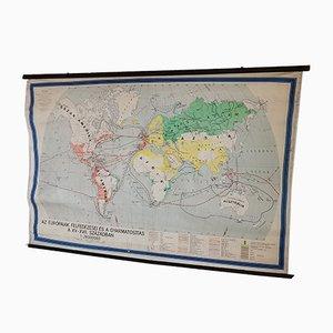 Mappa educativa della storia delle Americhe, Ungheria, 1964