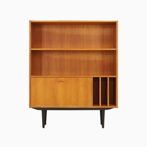 Vintage Danish Teak Veneer Bookcase from Clausen & Søn, 1970s