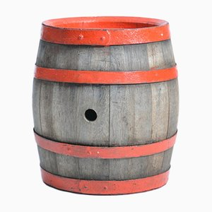 Czechoslovakian Oak Wine Barrel, 1950s