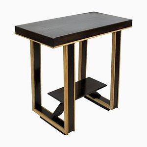 Mid-Century Italian Wooden Side Table, 1950s