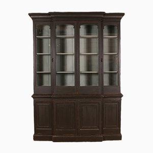 Antikes Bücherregal aus Holz, 1850er