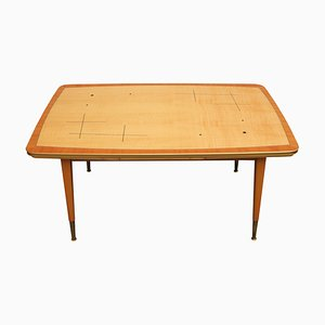 Mid-Century German Maple Coffee Table, 1950s