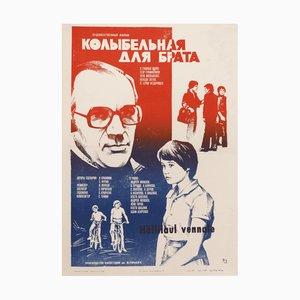 Affiche de Film URSS Vintage en Papier, 1982