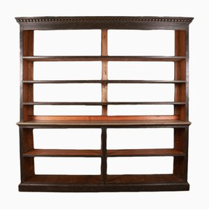 Antique Wooden Bookcase, 1860s