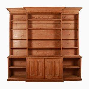 Antikes Bücherregal aus Pinienholz, 1810er
