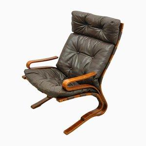 Rosewood Veneer Siësta Cantilever Lounge Chair by Ingmar Relling for Westnofa, 1970s