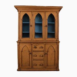 Antike Vitrine aus Holz