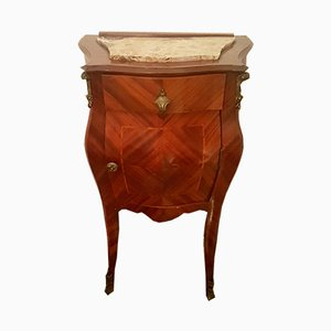 Antique Louis XV Style Italian Walnut Nightstand