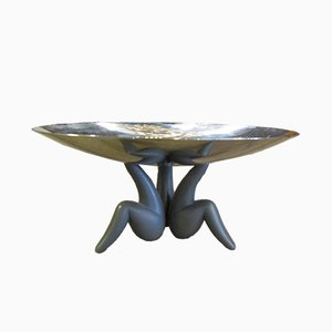 Italian Steel & ABS Centrepiece by Philippe Starck for Alessi, 1980s