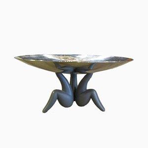 Italienischer Tafelaufsatz aus Stahl & ABS-Kunststoff von Philippe Starck für Alessi, 1980er